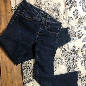 American Eagle Skinny Blue Jeans